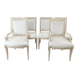 French Dauphin Chairs - Set of 6