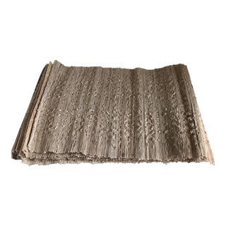 Boho Natural Woven Placemats - Set of 10