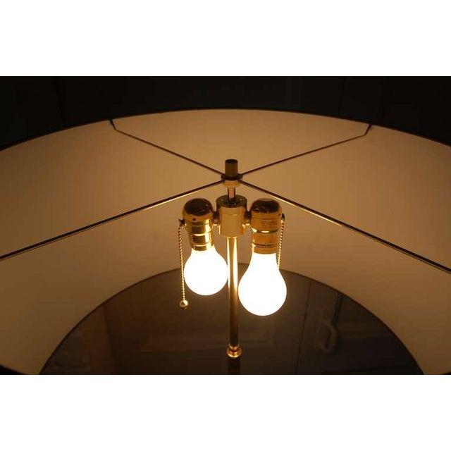 Monumental Balustrade-Form Plaster Table Lamp For Sale - Image 9 of 11