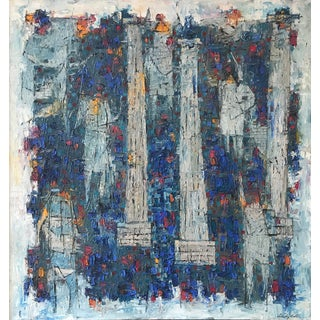 Stanley Bate, Forum - Roman Carnival Painting, 1960 For Sale