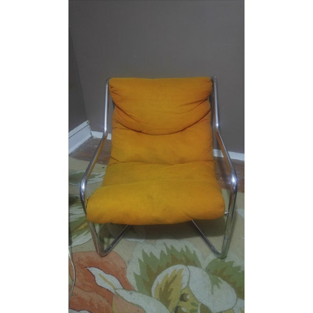 Authentic Mid-Century Milo Baughman Lounge Chair - Image 2 of 5