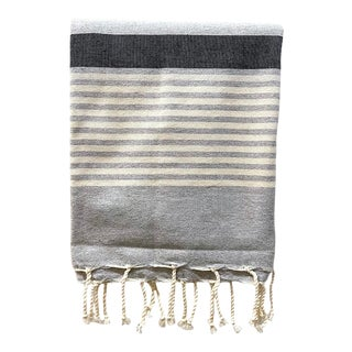 The Souk's Tunisian Fouta, Egyptian Cotton Bath Towel For Sale