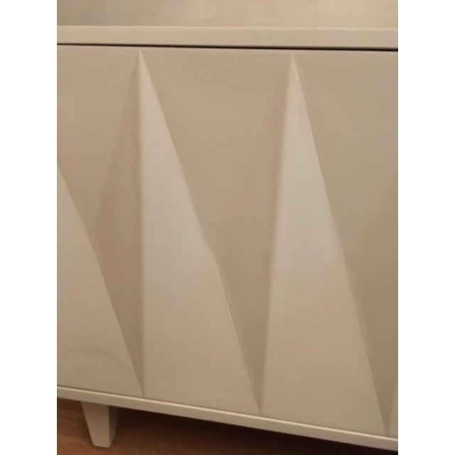 Erinn V. White Diamond Door Side Table - Image 4 of 5
