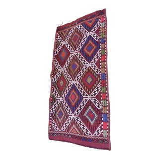 Vintage Anatolian Embroidered Pillow Cover
