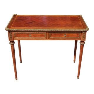 Louis XVI Petite Desk or Console Table For Sale