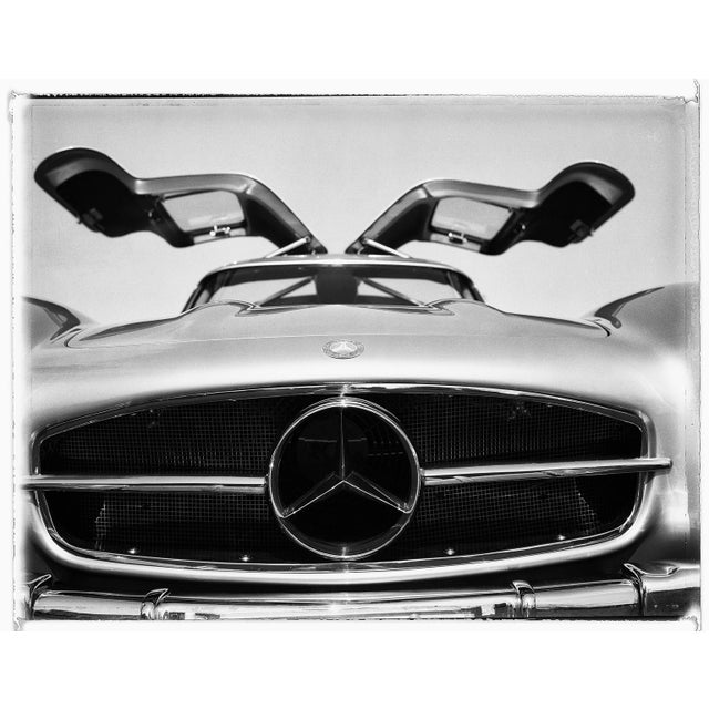 Photorealism Gullwing Mercedes-Benz Photograph by Charles Baker For Sale - Image 3 of 4