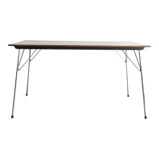 Early Herman Miller DTM Dining Folding Table