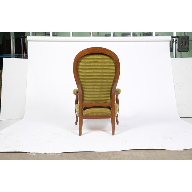 1890's French Rococo-Style Armchair For Sale - Image 10 of 13