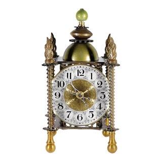 Filigree Mantel Clock For Sale