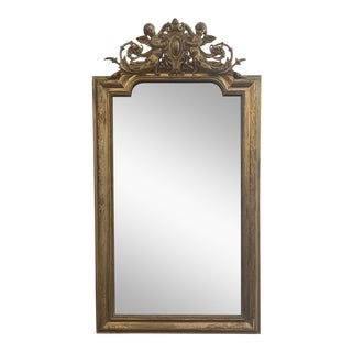 Early 19th Century French Gold Gilt Mirror For Sale