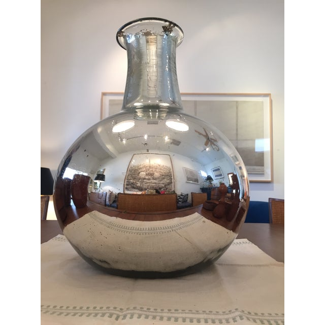 Silver Mercury Glass Vase - Image 2 of 4