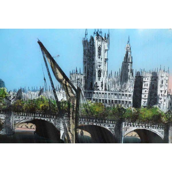 Framed Print of London For Sale - Image 6 of 11