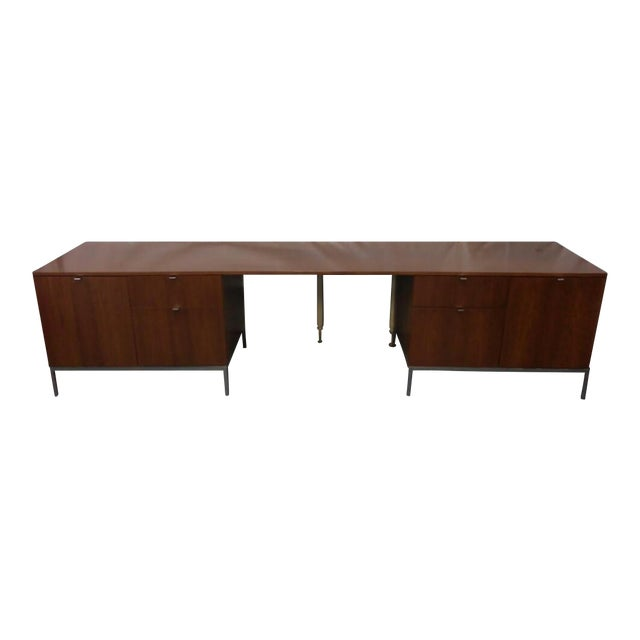 Knoll Mid-Century Modern Wood Credenza - Image 1 of 9