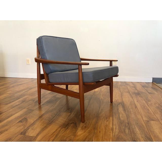 Grete Jalk Danish Teak Lounge Chair For Sale - Image 13 of 13