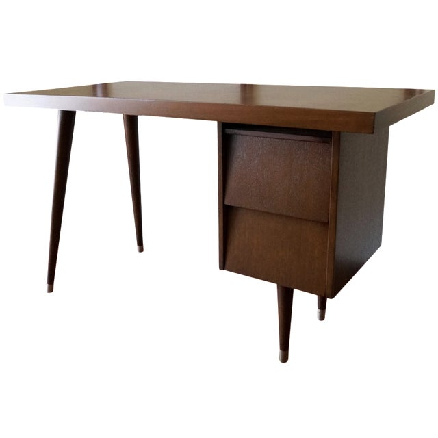 Barzilay Mid-Century California Modern Desk - Image 1 of 11