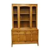 Image of Late 20th Century Vintage Drexel Eastrend Collection China Cabinet For Sale