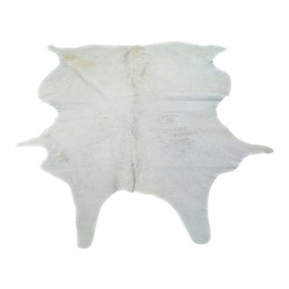 Classic Cowhide Natural White Rug