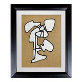 Image of Abstract Jean Dubuffet Lithograph Limited Edition - Abstract Vacuum Forms For Sale
