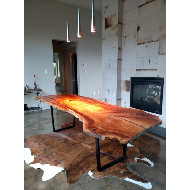 Modern Gambrell Live Edge Table For Sale - Image 3 of 4