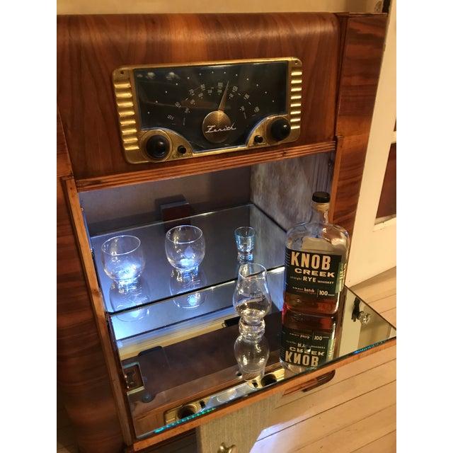 Radio Phonograph Liquor / Bar Cabinet