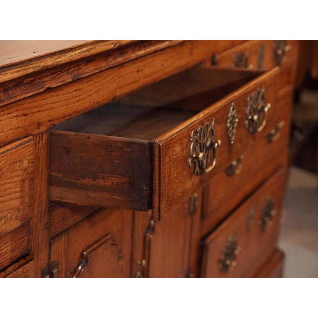 Antique English Dresser Base For Sale In New Orleans - Image 6 of 8