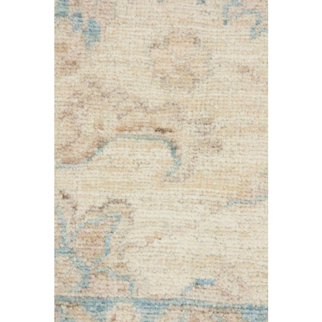 "Islamic Oushak Hand Knotted Area Rug - 3' 4"" X 5' 0"" For Sale - Image 3 of 4"