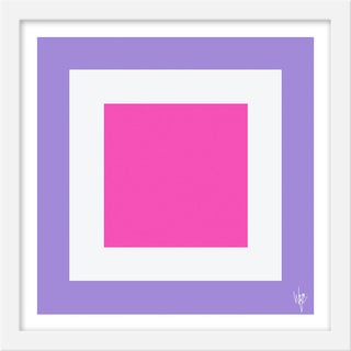 """Small """"Squared Vi"""" Print by Wendy Concannon, 15"""" X 15"""" For Sale"""