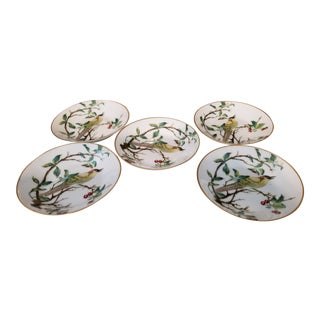 Mid-Century Modern French Limoge Coasters - Set of 5