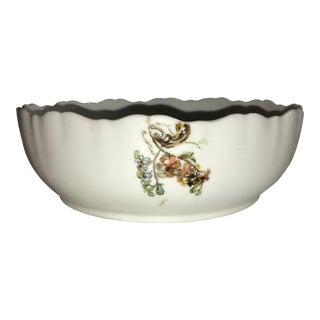 Vintage Limoges Porcelain Bowl For Sale
