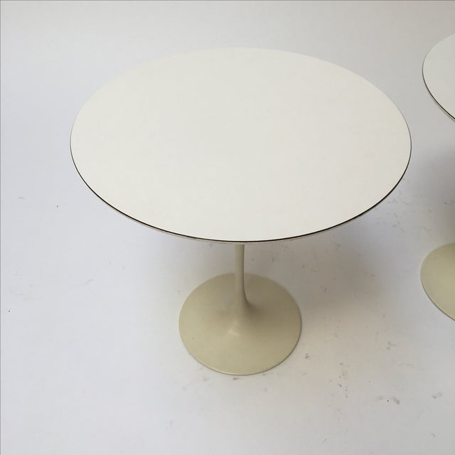 1st Edition Tulip Side Tables - Pair - Image 6 of 11
