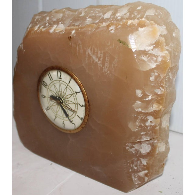 Early 20th Century Monumental Quartz Electric Clock with Original Works For Sale In Los Angeles - Image 6 of 6