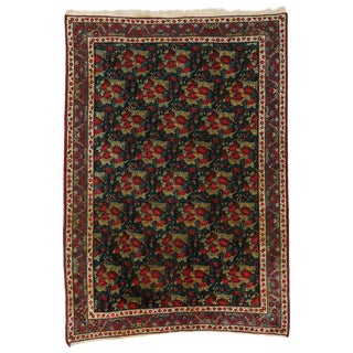 20th Century Persian Bijar Rug - 6′7″ × 9′1″ For Sale