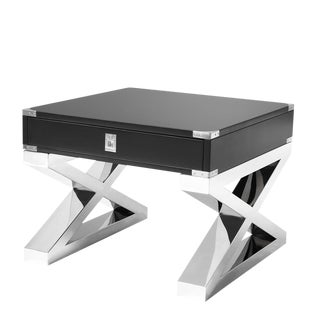 Montana Cross Leg Side Table For Sale