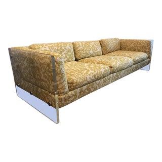Vintage Mid-Century Milo Baughman for Selig Lucite Sofa For Sale