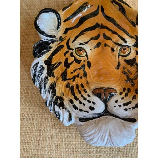 Vintage Italian Porcelain Tiger Bowl/Wall Plate Preview