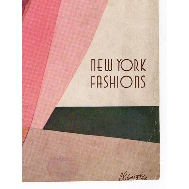 """Harper's Bazaar, May 1930."" Original Vintage Fashion Magazine Cover For Sale - Image 4 of 5"