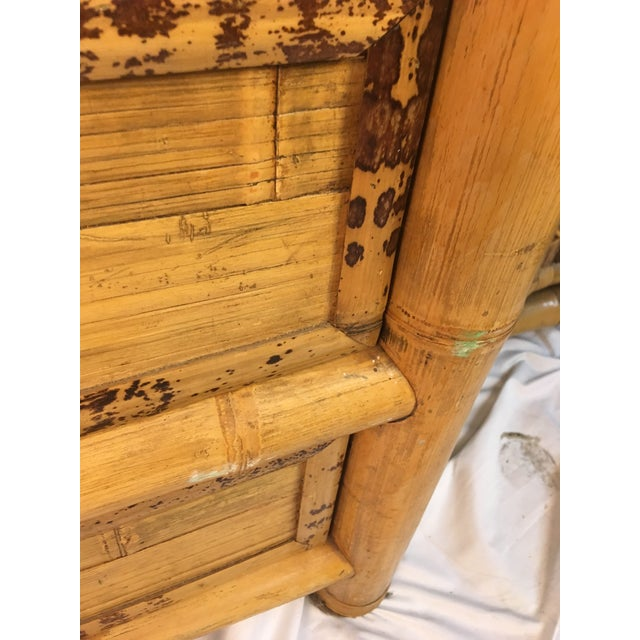 1960s Chinoiserie Bamboo Dresser For Sale In Charleston - Image 6 of 10