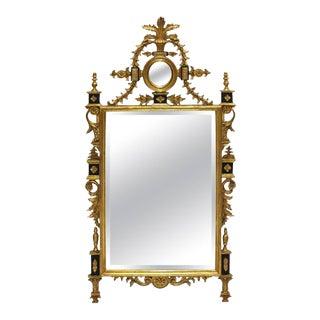 Georgian-Style Gilt Wall Mirror For Sale