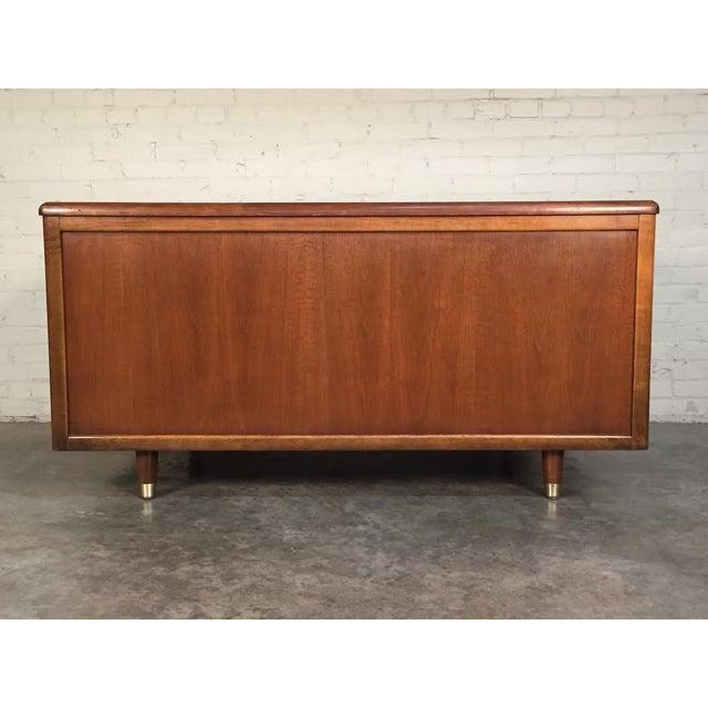 Jasper Mid-Century Modern Walnut Desk - Image 5 of 8