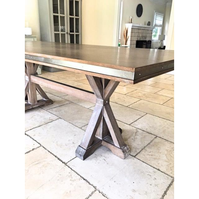 Urban Home Bristol Rectangle Dining Table - Image 4 of 6