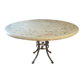Ironies Mosaic Stone Dining Table For Sale