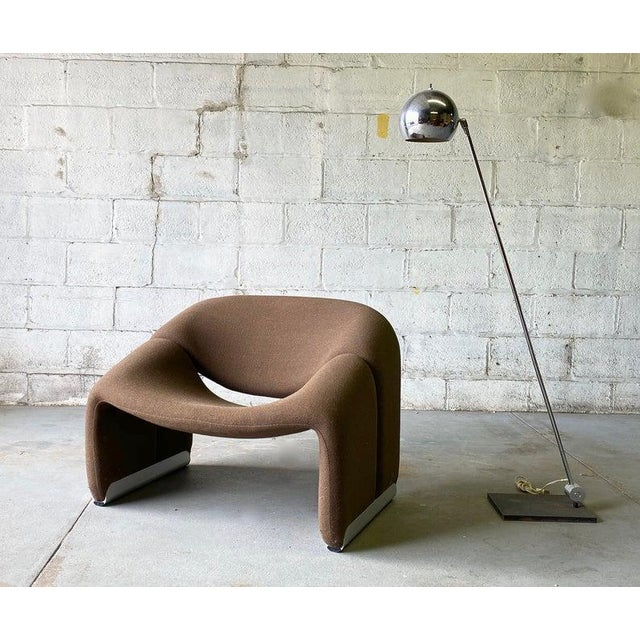 "Mid Century Modern ""Groovy"" Armchair by Pierre Paulin for Artifort, Holland For Sale In New York - Image 6 of 11"