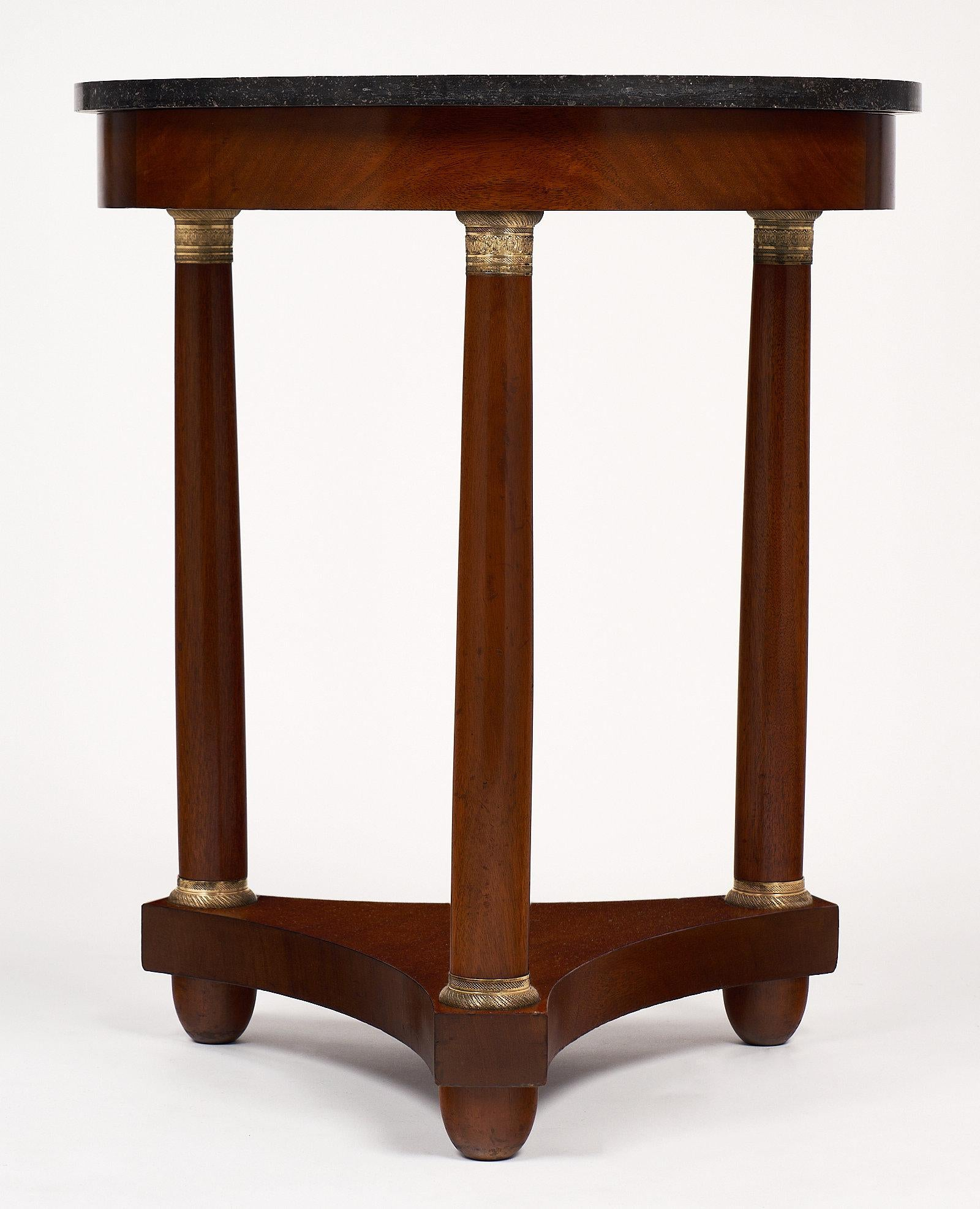 French Empire Style Mahogany Gueridon For Sale   Image 5 Of 10