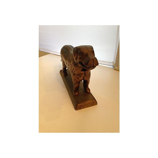 Brass Labrador Nutcracker - Image 4 of 6