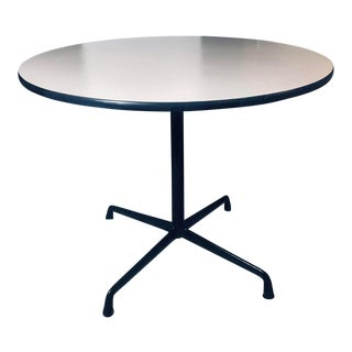 Original Eames for Herman Miller Table With Black Aluminum Segmented Base For Sale