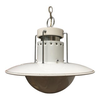 Forecast Lighting White Pendant Light For Sale