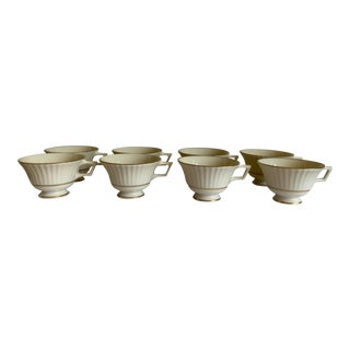 Lenox Temple Collection Citation Gold Coffee Cups - Set of 8 For Sale