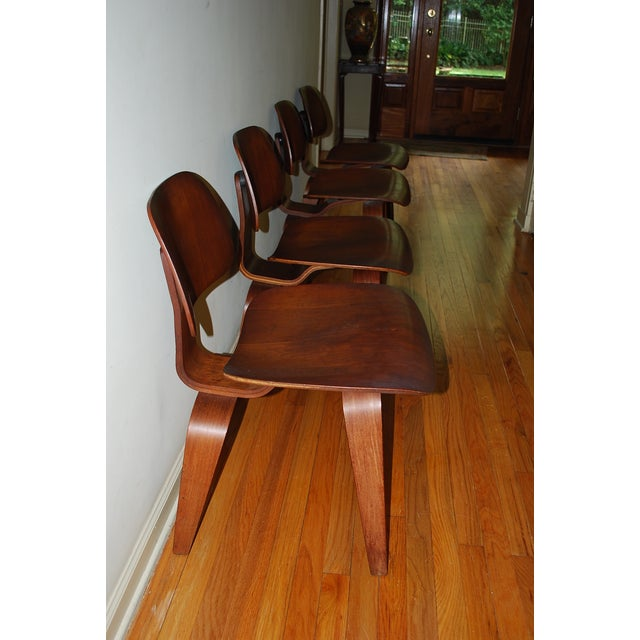 Vintage Mid-Century Eames Chairs - Set of 4 - Image 4 of 7