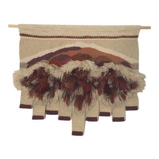 Vintage Bingaman Textile/Fiber Art/Macramé