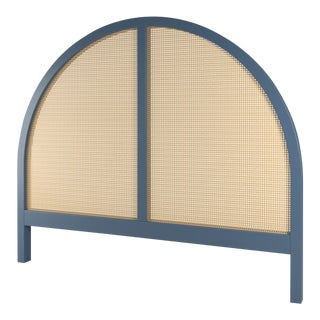 Eva Headboard - Queen - Newburyport Blue For Sale